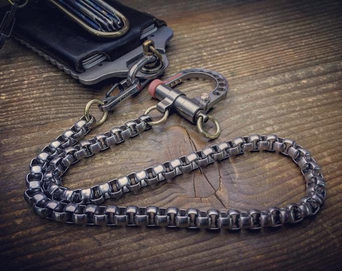 The Motero / Biker wallet chain / Three versions