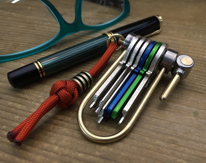 Custom Proto-8 / U-Bike Titanium Keychain (Pre series)