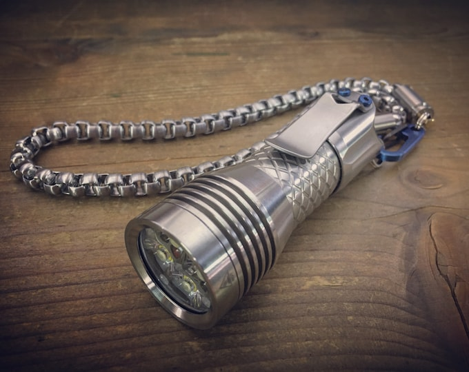 EDC Flashlight / PS-16 Rechargeable Micro USB by Mec-Army