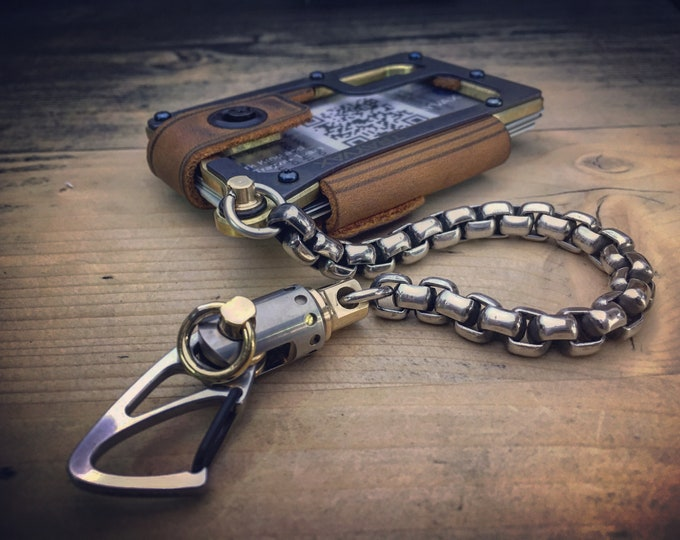 KIT Trayvax Contour Brass MOD /  Edc Wallet Chain
