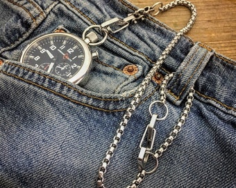 Small Wallet Chain SWC-01B / (multi-purpose security chain)