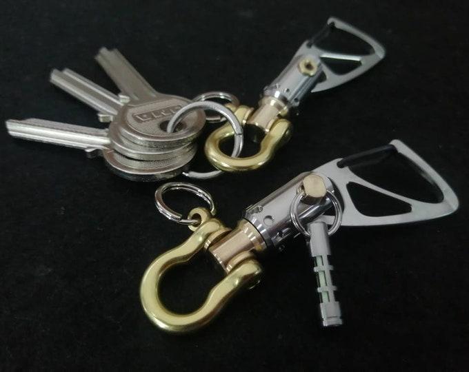 Sailor Key Ring  with small Jib Furler / Base
