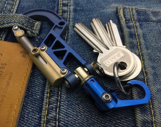 Titanium Bolt Carabiner. Swivel Clip / STD/25V