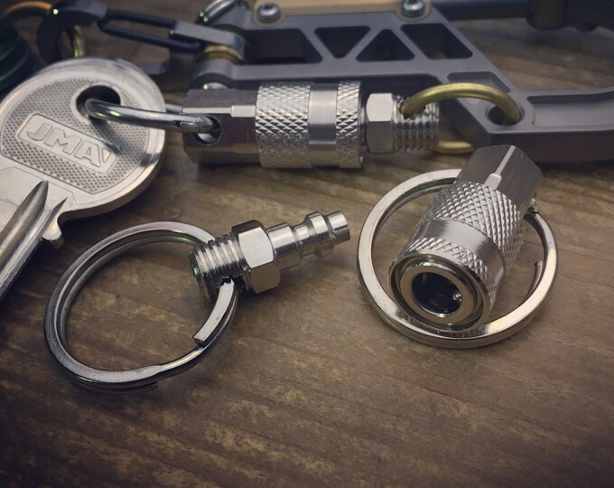 Hardware / Quick release connector Key chain / Basic