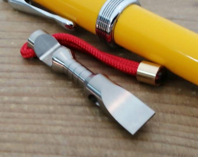 Mini Pry-Bar  Multi tool, bottle opener / Titanium