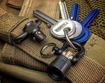 Quick detachable Swivel Connector Keychain