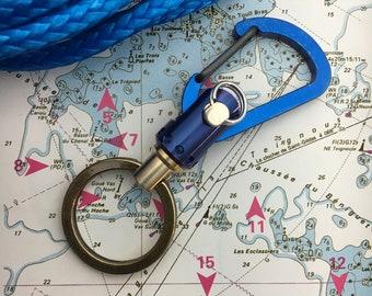 Sailor Keychain with small Jib Furler / Titanium