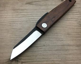 Ohta Knives FK5/3 - D2/ IRONWOOD