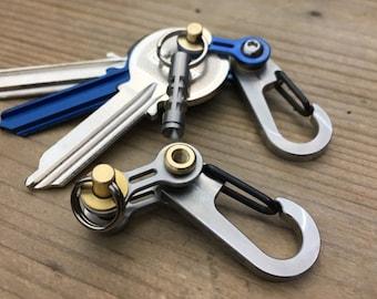 Key Carabiner Bike-Link / Pure Titanium