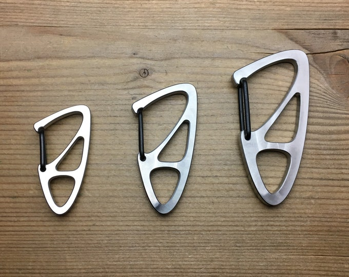 Titanium Key Carabiners (New Model)