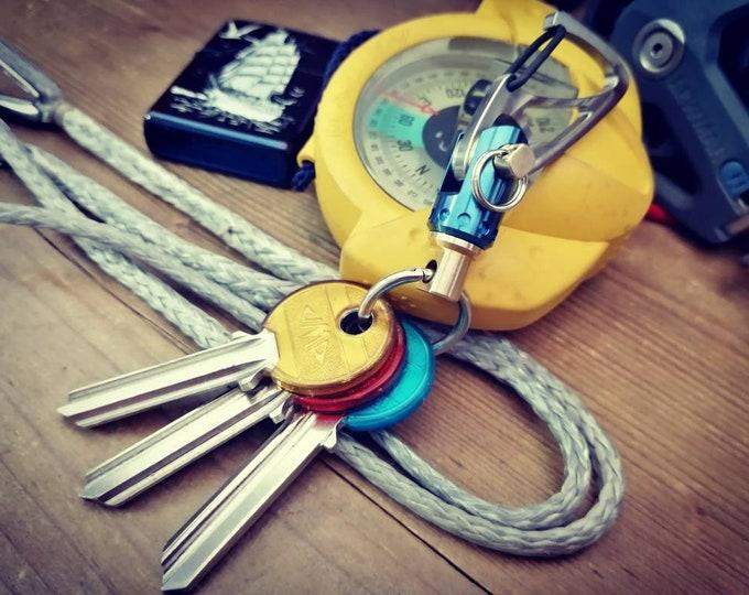 Sailor Key Ring  with small Jib Furler / Natural Basic