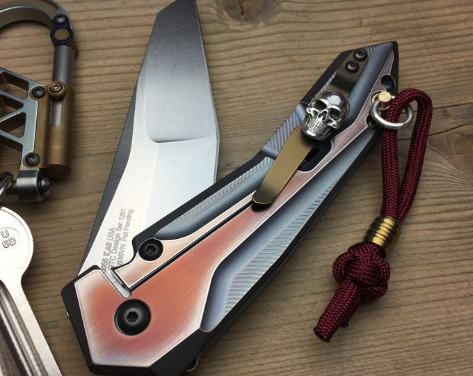 Featured listing image: Custom Pocket Knife / ZT-0055