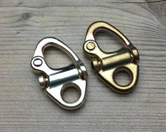 Quick release sailor Sweden shackle / Solid Bronze