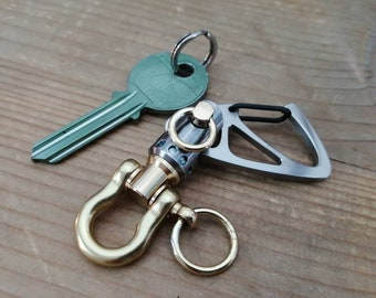 Sailor Key Ring  with small Jib Furler