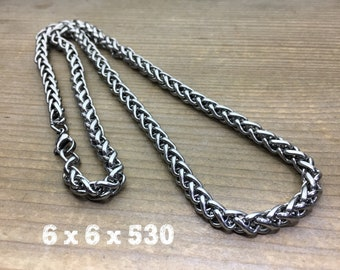 316L Stainless Steel Braided Chain Link