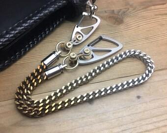 Wallet Chain / Ti-Bullet Caps Swivels / SWC-10