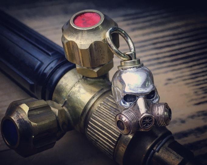 Rotating Skull Mask Pendant Bead / Silver Sterling - Bronze (Original -> GDS / Mod)