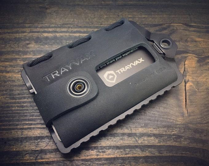 Trayvax - Element Wallet / RFID blocking  / Stainless Steels / 5  Options
