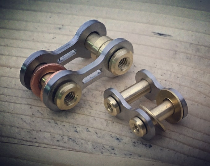 Titanium Bike-Link,  Connector key chain Kit /  Small and Large