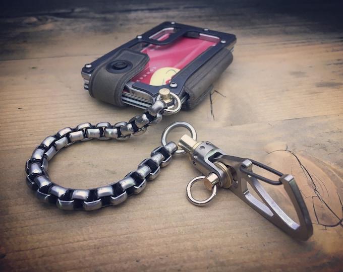 TOP-KIT S. Steels Trayvax Contour MOD /  Edc Wallet Chain / E-3
