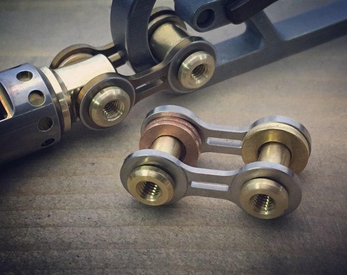 Titanium Bike-Link,  Connector key chain Kit /  2 Options