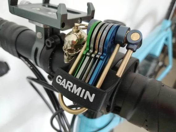 U-Bike Titanium Keychain - Anodized