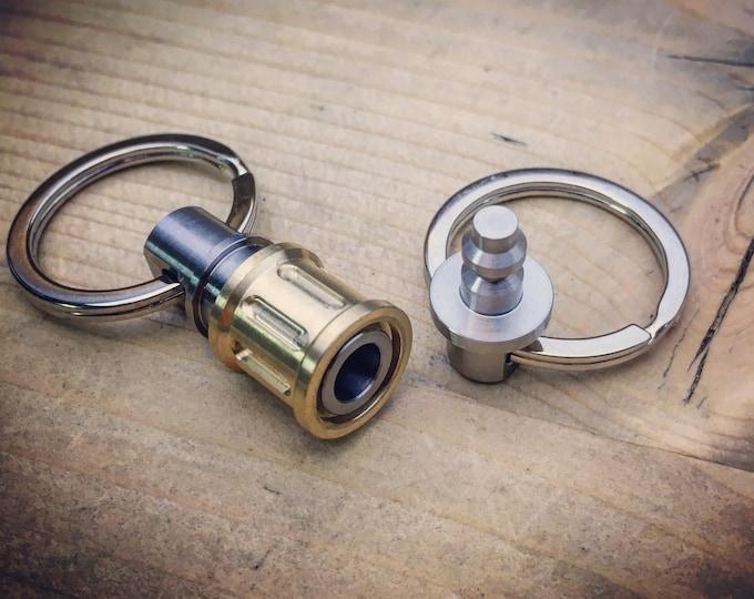 CB-Quick Release Connector / Titanium - Brass