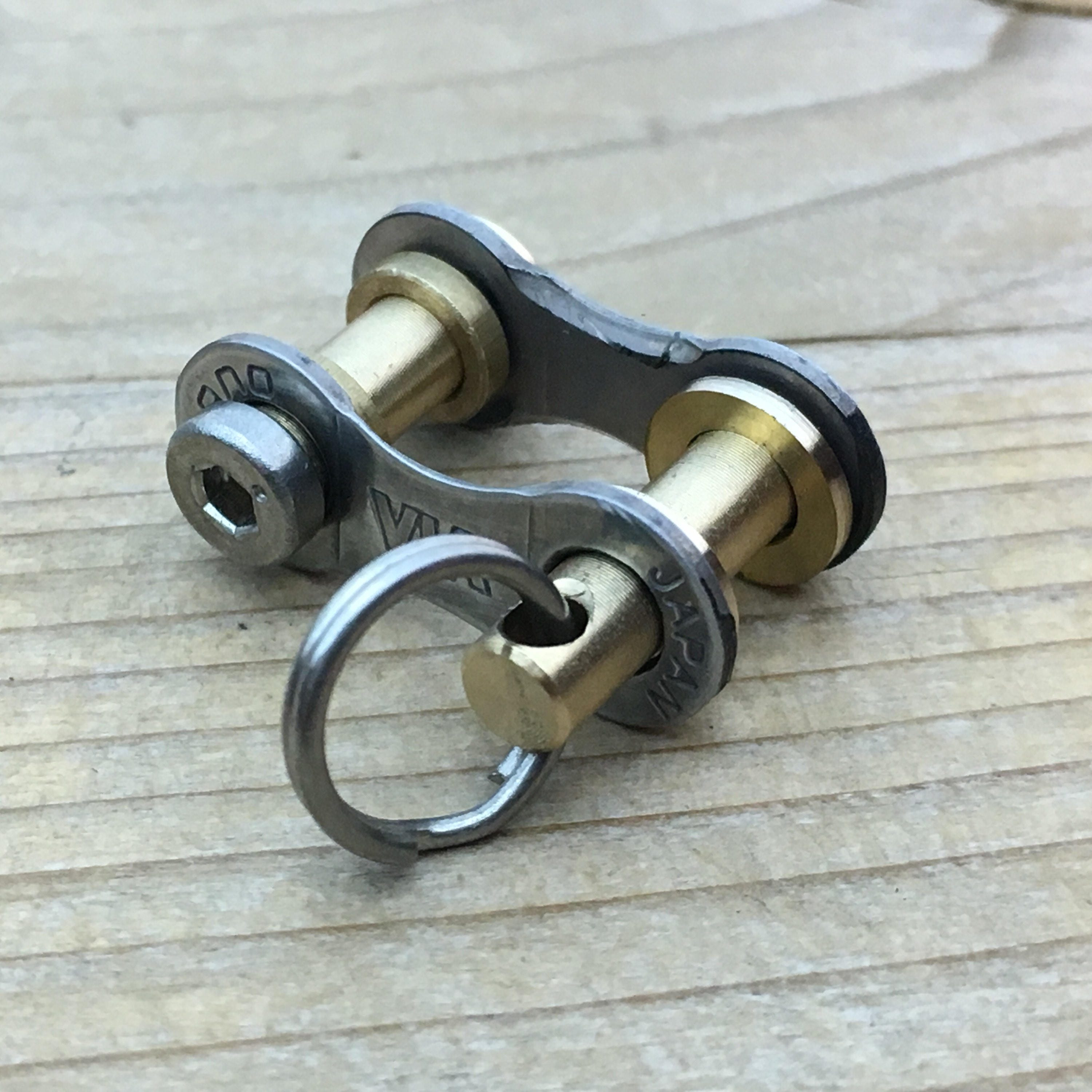 Recycled Bike Link Connector Etsy