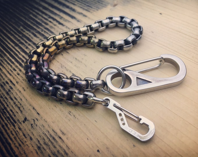 The Fat Chain Convict / Wallet chain  Titanium - Stainless Steels