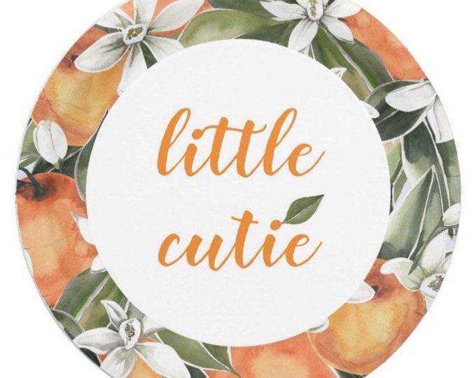 Little Cutie Paper Plates Luncheon   Little Cutie Baby Shower   A Little Cutie is on the Way   Citrus Birthday   Little Cutie First Birthday