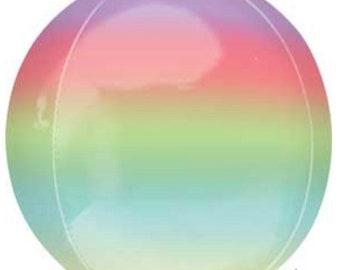 Ombré Orbz Balloons   Rainbow Baby Shower Decor   Rainbow Balloons   Tropical Baby Shower Decor   Summer Birthday Party Decor