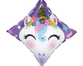Unicorn Balloons   Diamond Unicorn Balloon   Unicorn Birthday Party Decor   Unicorn Decor   Unicorn Party   Rainbow Birthday Balloons