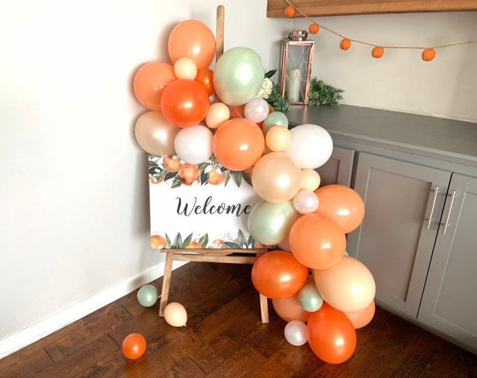 Little Cutie Balloon Garland   A Little Cutie Is On The Way Baby Shower Decor   Love is Sweet Bridal Shower   It's Sweet To Be One First Bi