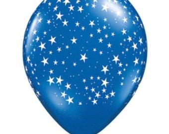 Blue Star Balloons   White Star Balloons   Twinkle Little Star Balloons   USA Balloons   Blue Star Birthday Balloons