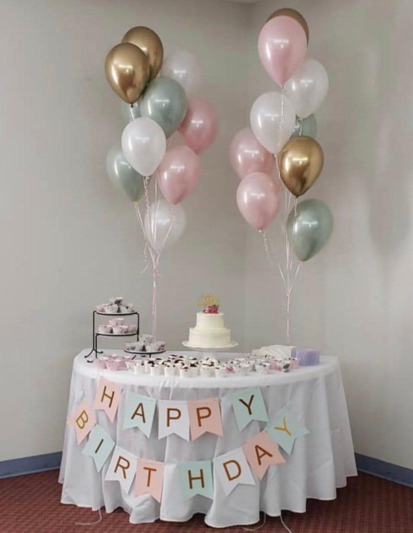 Sage Green And Blush Balloons Light Green Wedding Decor Green And Pink Balloons Blush And Green Balloons Sage Green Bridal Shower