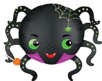 Spider Balloon | Halloween Balloons | Halloween Party Decor | Trick or Treat | Spooky Halloween Decor | Kid's Halloween Party Decor