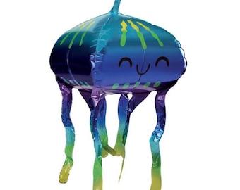 Jellyfish Balloons | Under The Sea Party Decor | Shark Birthday Party Decor | Beach Birthday Party Decor | Mermaid Birthday Balloons