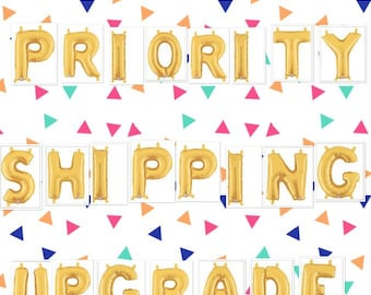 Priority Shipping Upgrade | Upgrade To Priority Shipping | For Domestic USPS Priority Shipping