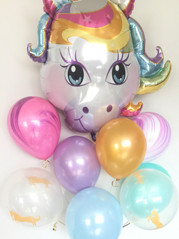 Glitter Balloon Unicorn Birthday Balloon Unicorn Party Balloon 54 Unicorn Balloon Rainbow Party Decorations Unicorn First Birthday