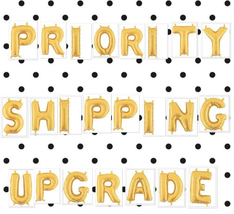 Priority Shipping Upgrade Upgrade To Priority Shipping For Domestic USPS Priority Shipping