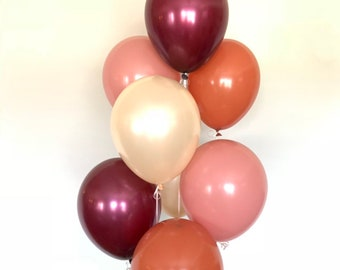 Fall Balloons Boho Rainbow Balloons | Boho Bridal Shower Decor | Boho Baby Shower | Boho Birthday Balloons
