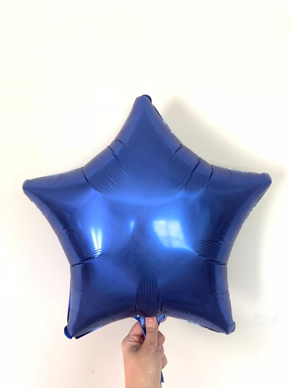 Birthday Party Decor Out of This World Turquoise Star Balloon Galaxy Birthday Balloons Blue Star Twinkle Little Star Balloons