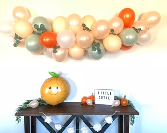 Little Cutie Balloon Garland | A Little Cutie Is On The Way Baby Shower Decor | Love is Sweet Bridal Shower | It's Sweet To Be One First Bi