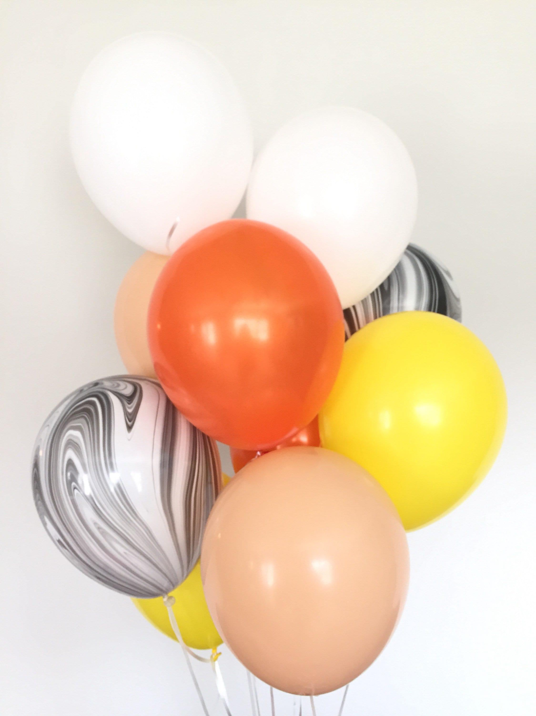 Halloween Party Balloons Latex High Quality ballon haloween Orange Black BOO