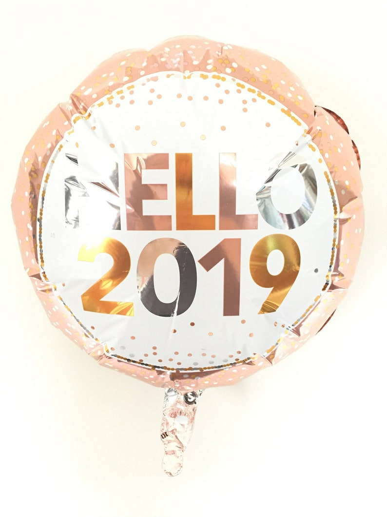 Happy New Year Balloons New Years Eve Party Decor New Etsy