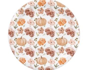 Little Pumpkin Plates Dessert | Little Pumpkin Baby Shower | A Little Pumpkin is on the Way | | Little Pumpkin First Birthday | Fall Baby