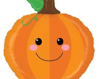 Little Pumpkin Balloons | Pumpkin Mylar Balloons | Little Pumpkin Baby Shower Balloons | Fall In Love Bridal Shower Decor | Pumpkin Birthday