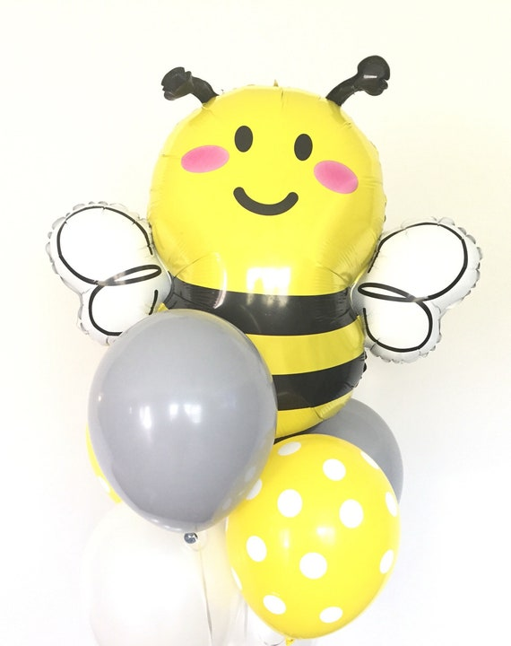 Bumble Bee Baby Shower Mommy To Bee Baby Shower Balloons Etsy