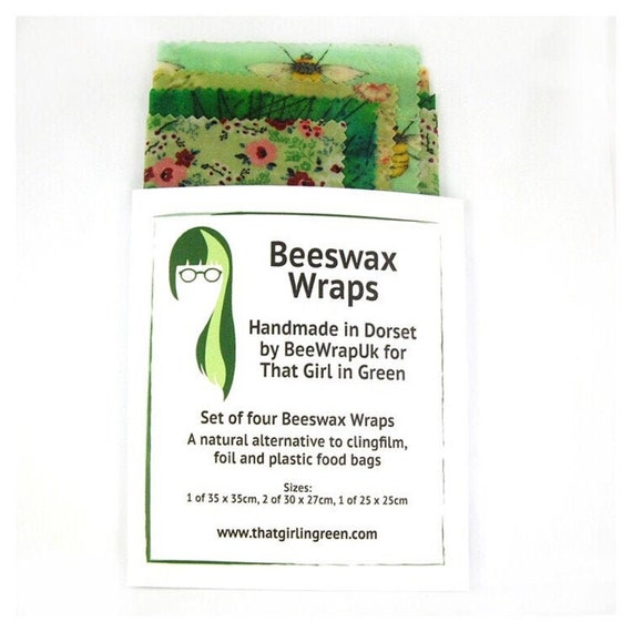 Reusable, Washable, Foodwraps, Beeswax Wraps