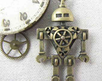 Shield 1 or 4, Steampunk, Robot, Stea